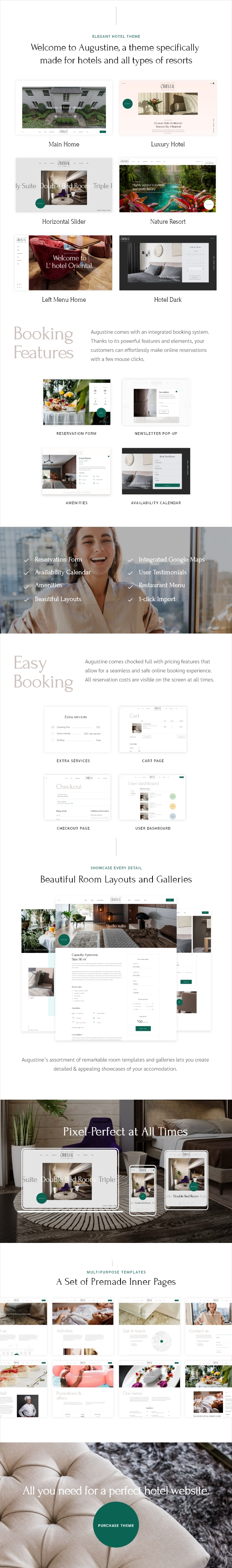Augustine - Hotel Booking Theme - 3